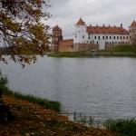 Zámek Mir a jezero