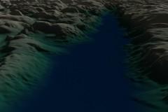 Lysefjord - SRTM