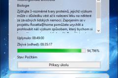 Rosetta@home GUI