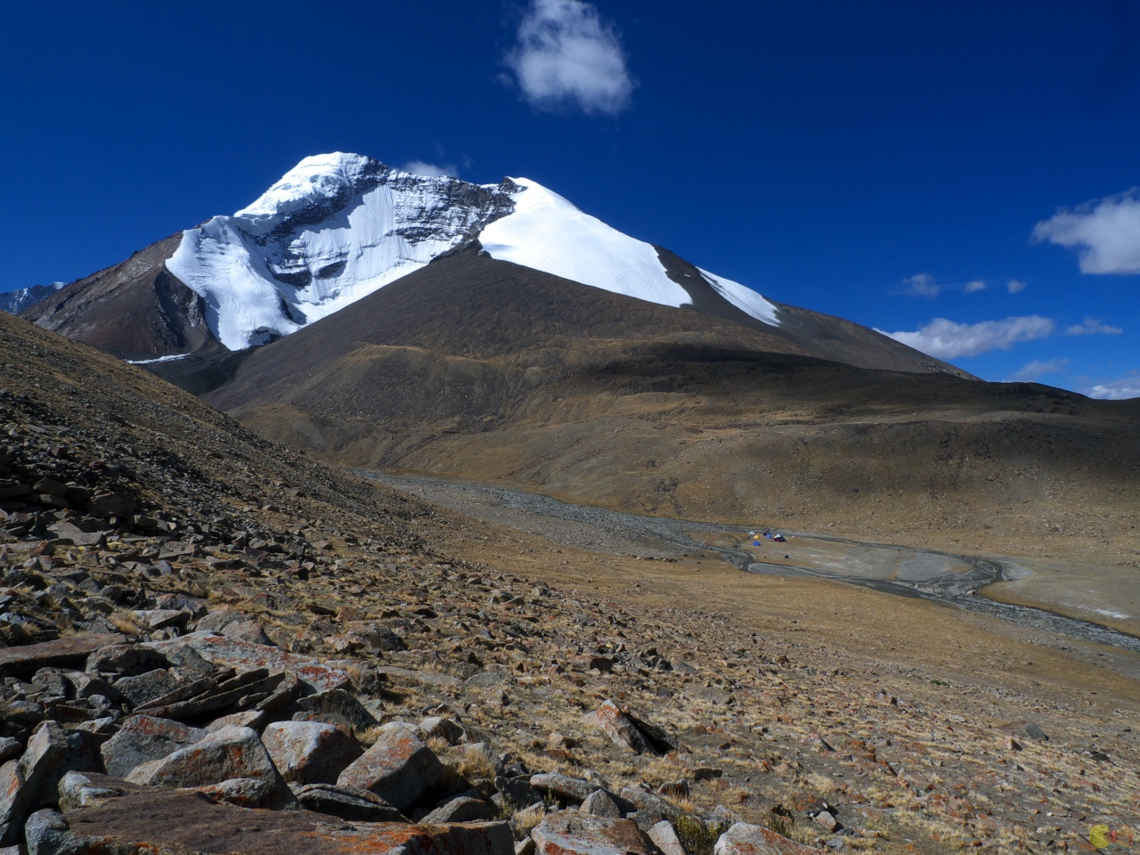 Kang Yatse base camp