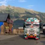 Typický indický náklaďák