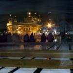 Zlatý chrám po setmění