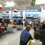 Fronta na letišti v Bruselu - Zaventem