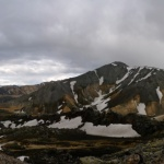 Duhové hory - panorama