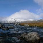 Řeka z Bessvatnet