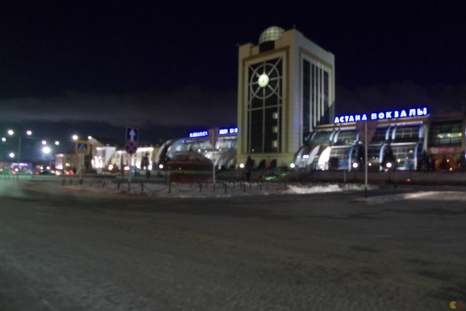 Vogzal v Almaty