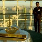 Otisk Nazarbajevovy ruky