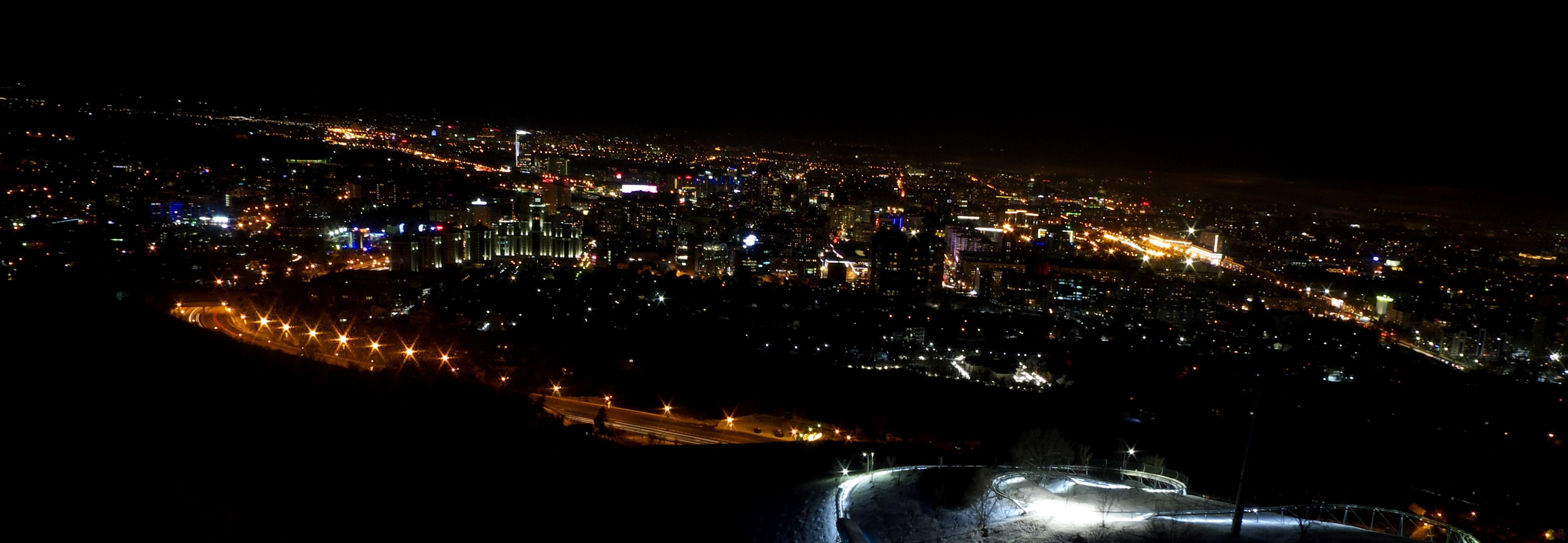 Almaty z Kok-Tobe