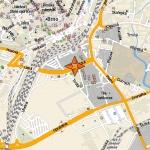 Mapa Brna v MapFactoru