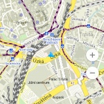 Mapa Brna v Maps.Me