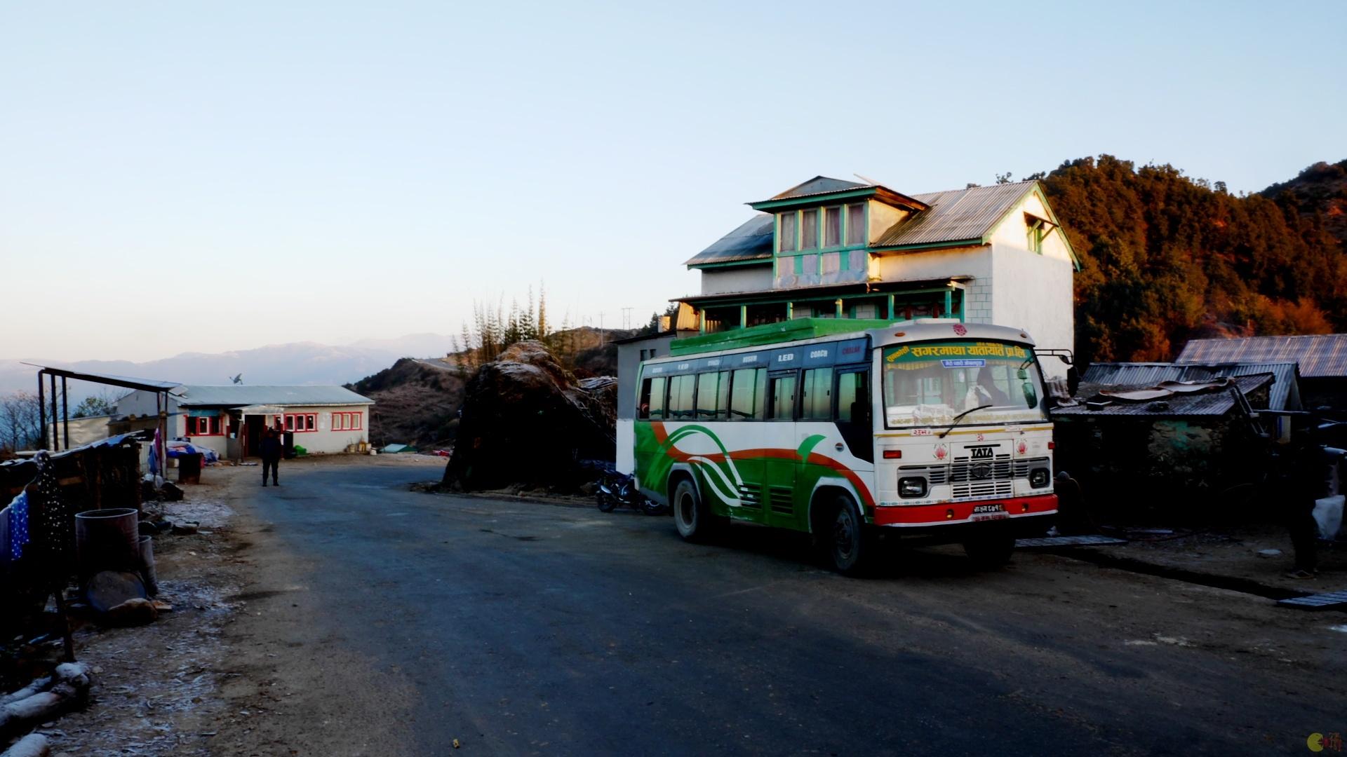 Autobus do Káthmándú