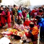 Swayambhunath - požehnání
