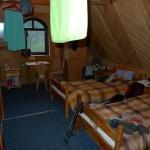 Náš útulný pokoj na horské chatě