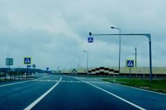 Přechod na dálnici