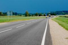 I menší silnice bývají ve výborném stavu.