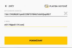 Bitstock - výběr vaší adresy