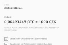 Bitstock - odhad kurzu