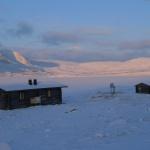 Pitsusjärvi laavu o den později