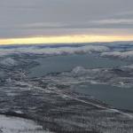 Výhled na Kilpisjärvi