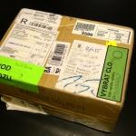 Proclený balík z Hongkongu