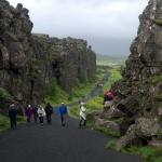 Þingvellir - turistický přístup