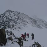Sestup dolů k ledovci