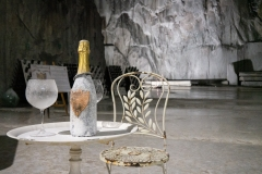 Marmotour a zrání vína v podzemním dole