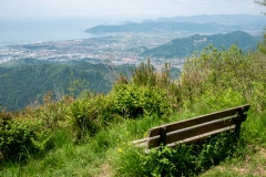 Výhled pod Monte Brugiana