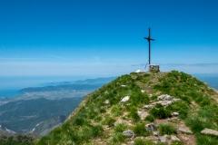 Vrchol Monte Sagro (1753 m)