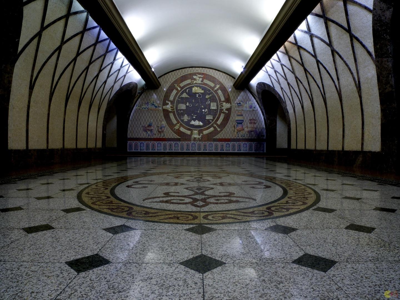 Astanské metro