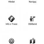 Hlavní menu - Navigator