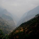 Pohodová cesta kolem řeky Dudh Koši