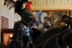 Ermitáž - jezdecké sochy v životní velikosti