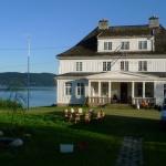 Pohled na fjord