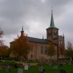 Kostel ve Svelviku.