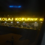 Přílet do Polska