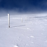 Zimní značení na Kráľovu Hoľu