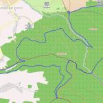 Mapa stezky.