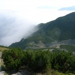 Ohlédnutí do ledovcového údolíčka