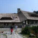 Turistická chata při odchodu