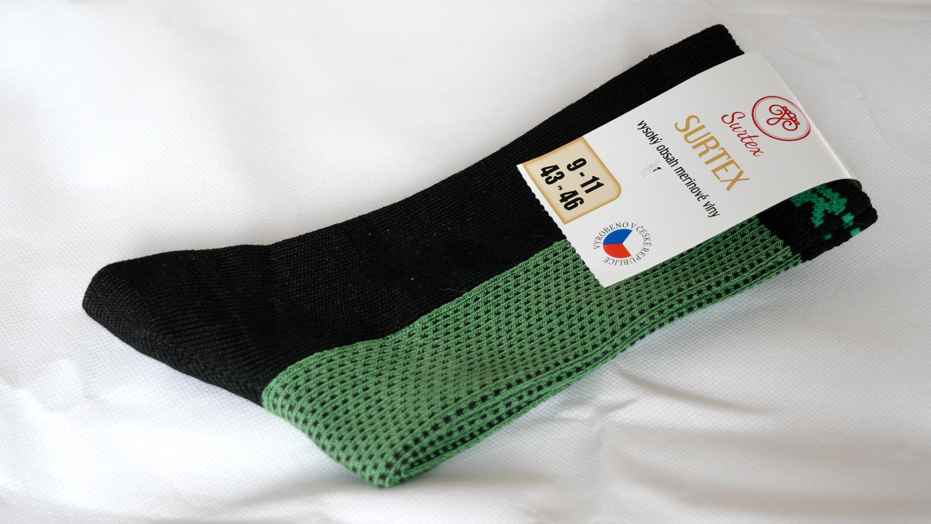Ponožky nerozbalené