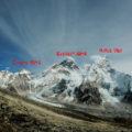 Nepálský trek tří sedel na přelomu listopadu a prosince 2018 část šestá - z Lobuše na Kala Pattar a přes Čo La do Gokya